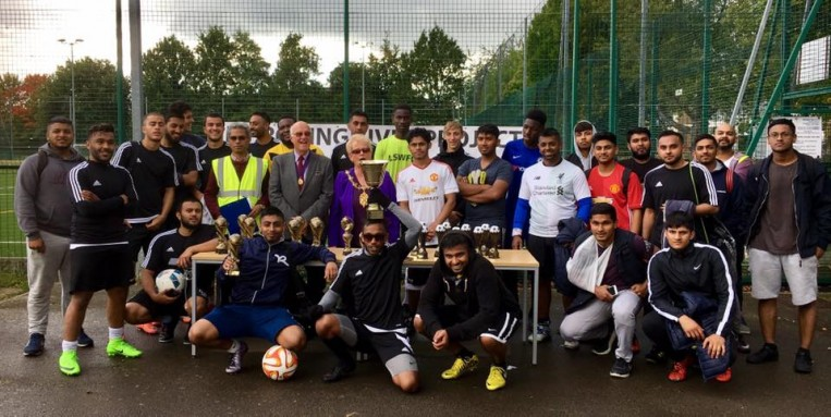 Improving Lives 7 A Side Football Tournament