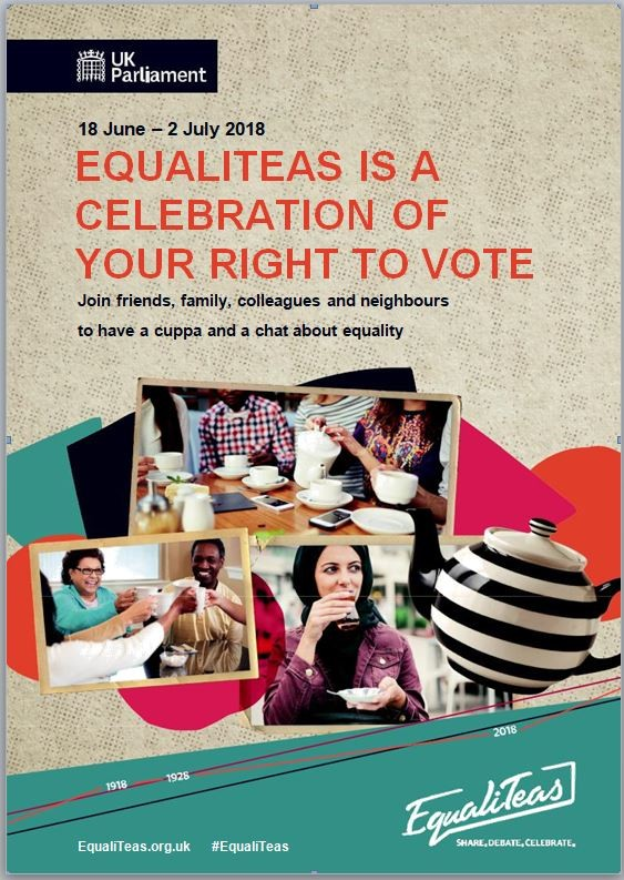 EqualiTeas - celebration of your right to vote