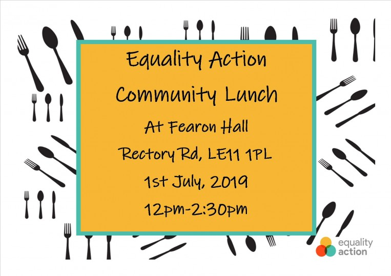 50 years celebrations for Equality Action 1969-2019 - Community Lunch