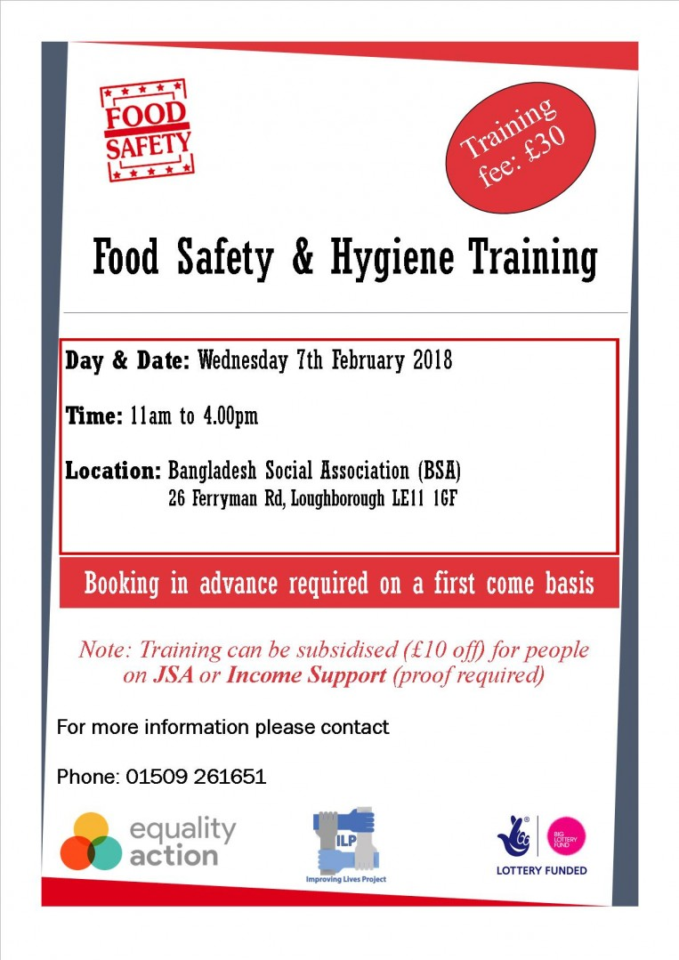 Food Safety & Hygiene Training