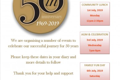 50 years celebrations for Equality Action 1969-2019