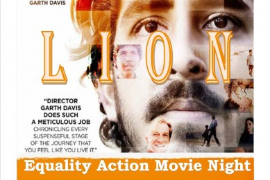 "50 years celebrations for Equality Action 1969-2019 - Movie night ""Lion"""
